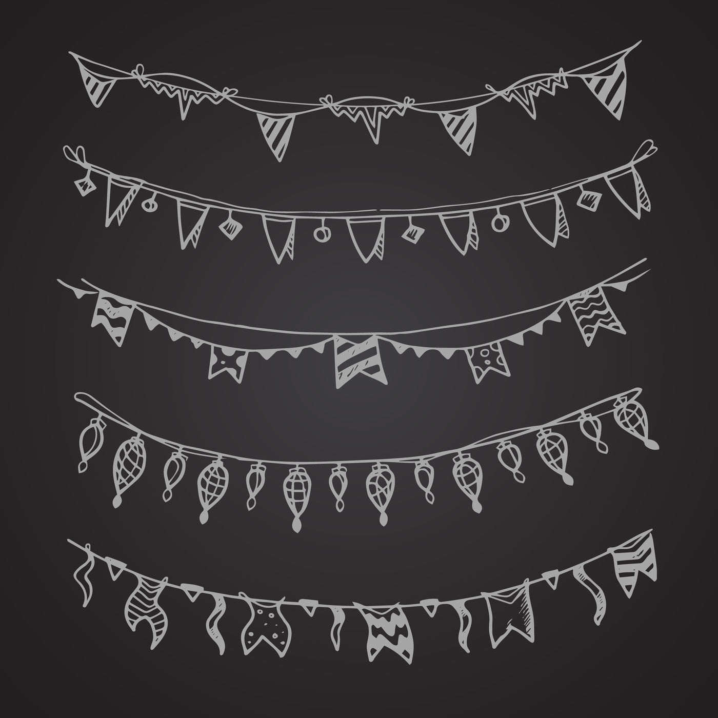 Celebration Holiday Garland Lamps Christmas And Wedding