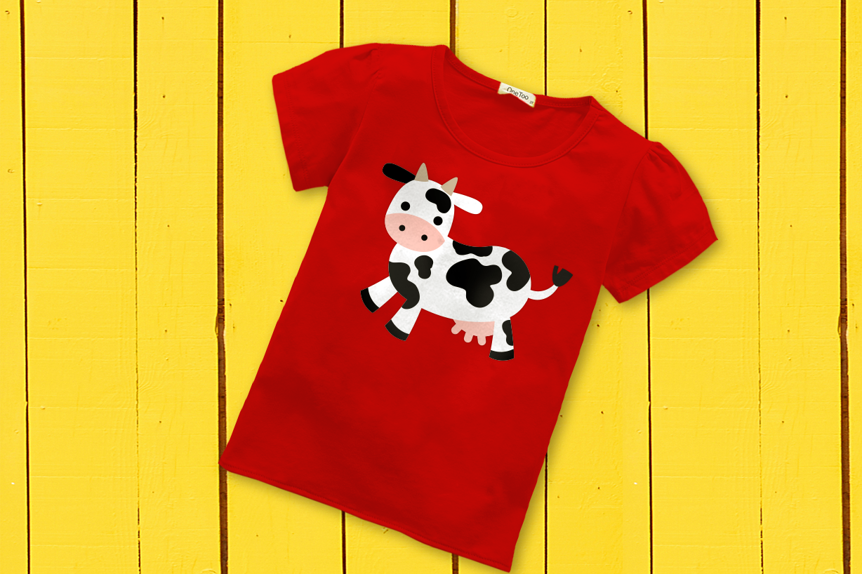 Farm Animal Party Banner Bundle Svg Png Dxf By Risa Rocks It