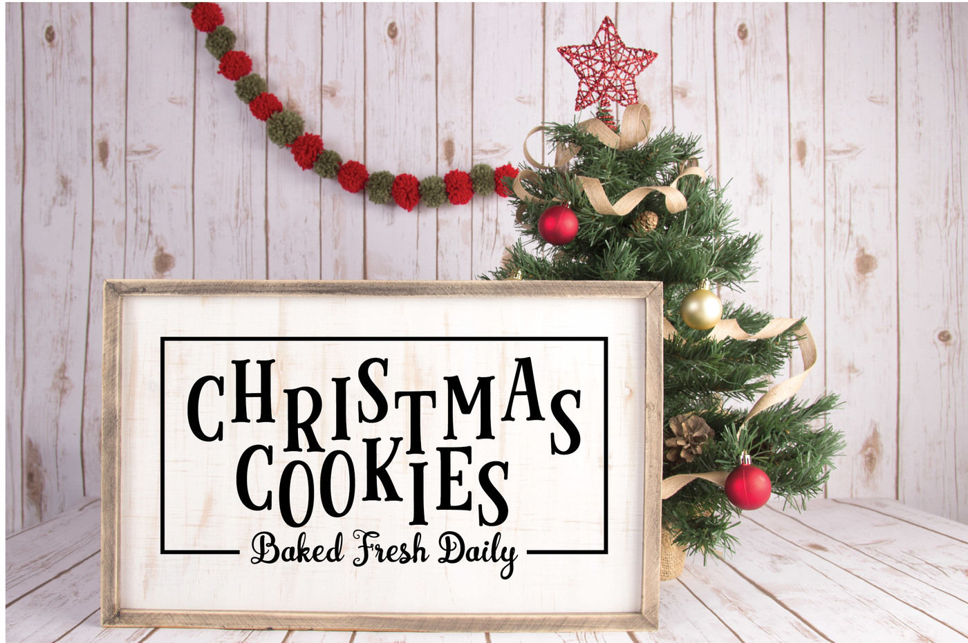 Farmhouse Christmas Svg Bundle With 20 Svg Cut Files Png Dxf Eps By Shannon Keyser Thehungryjpeg Com