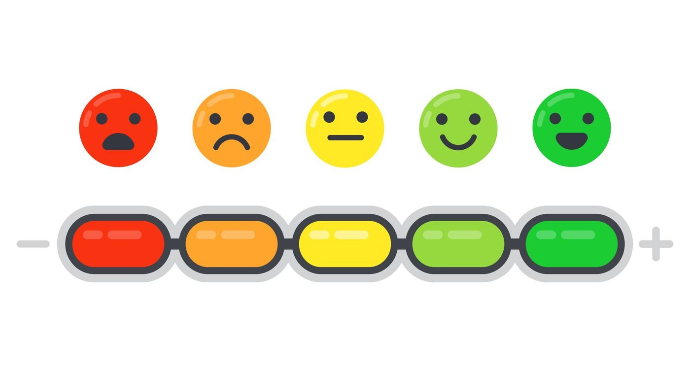 Emotional Scale Mood Indicator Customer Satisfaction Survey And