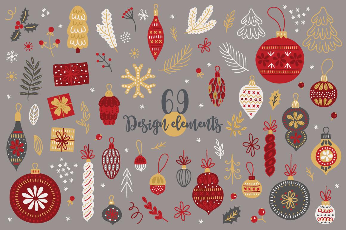 Christmas Kit 4 By Miu Miu Thehungryjpeg Com
