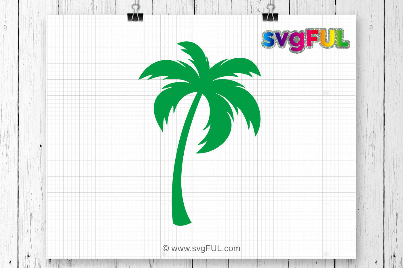 Palm Tree Svg Palm Tree Monogram Svg Tropical Tree Svg Summer