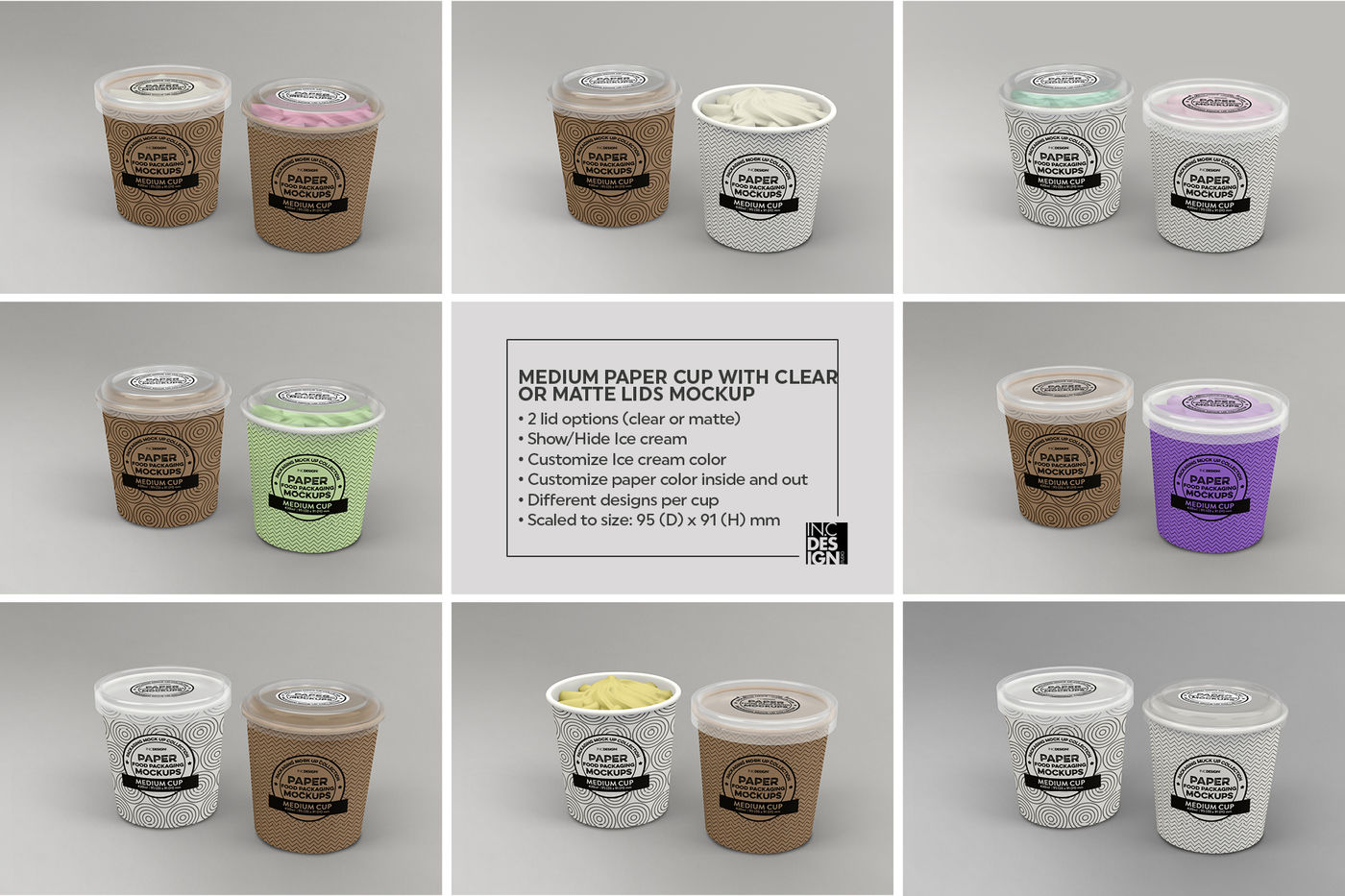 Download 5oz Four Cans Mockup Yellowimages