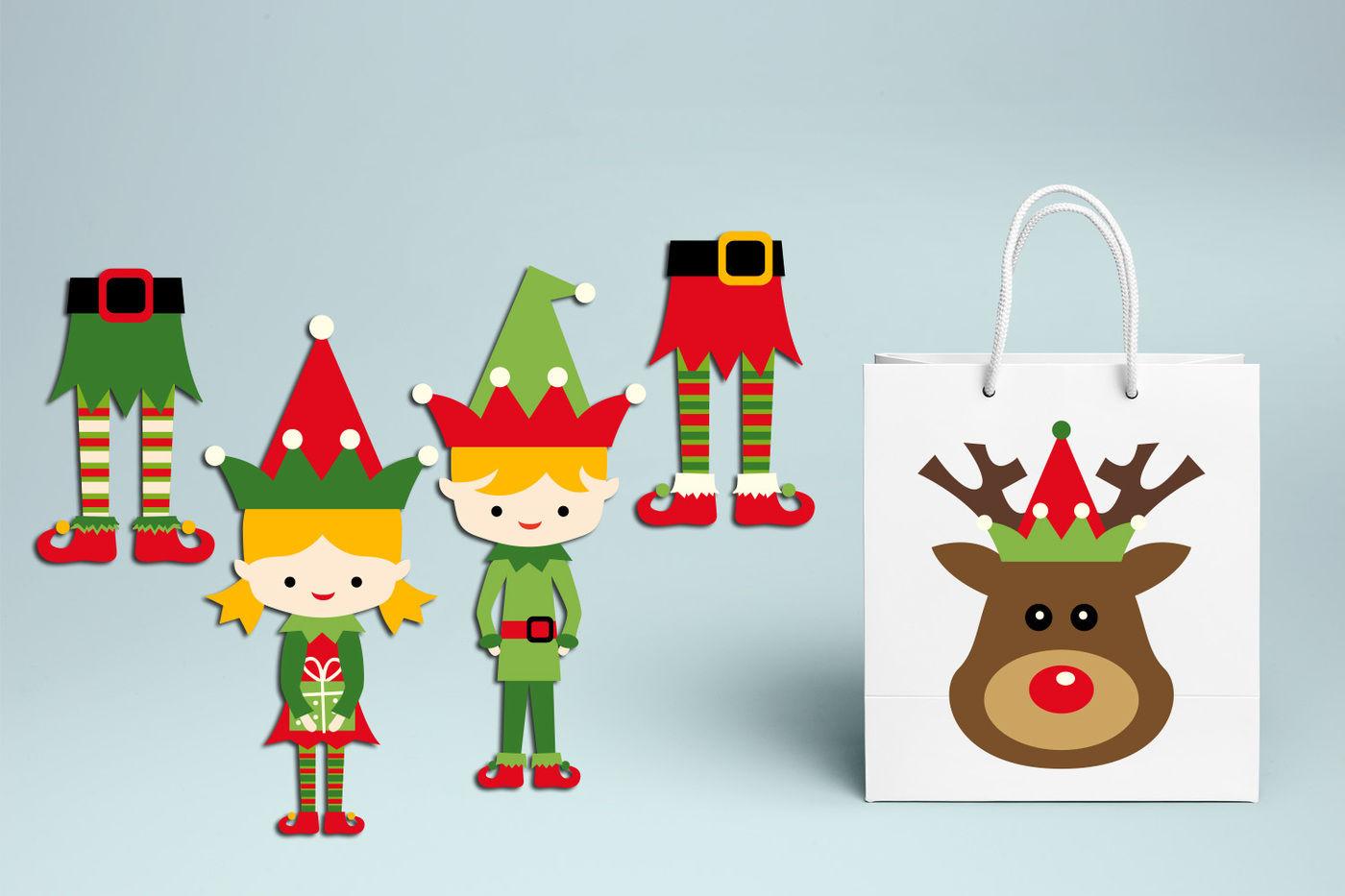 Christmas Elf Graphic Design By Blessedgrafik Thehungryjpeg Com