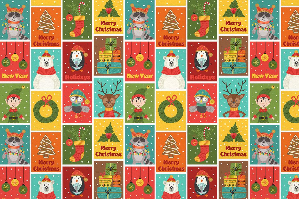 Christmas Characters Collection By Nataka Thehungryjpeg Com