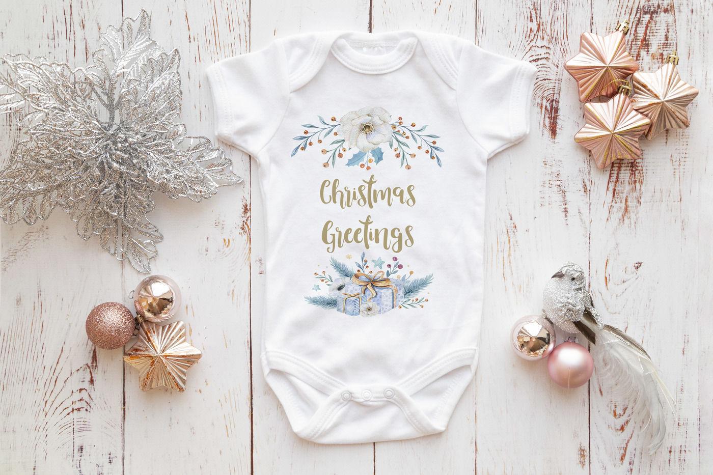 Babygrow All In One Onesie Infant Bodysuit Mockup Photo By