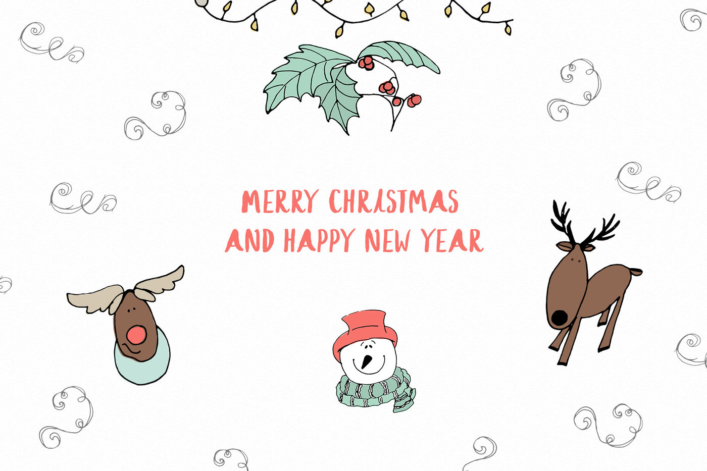 Christmas And Winter Vector Clipart By Sketchcliparts