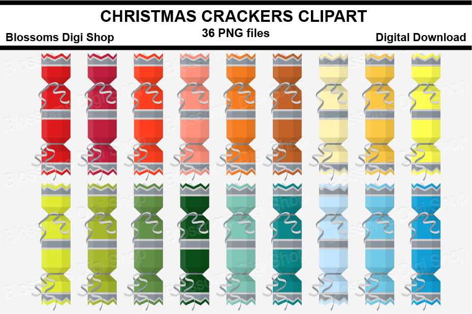 Christmas Crackers Png.Christmas Crackers Silver Clipart Multi Colours 36 Png