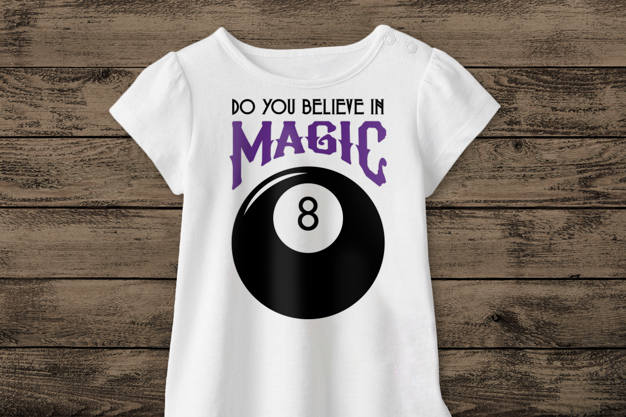 Magic 8 Ball Do You Believe In Magic Svg Png Dxf By Risa