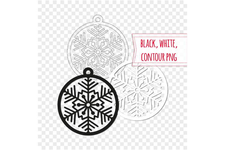 20 Christmas Ball Svg Winter Decor Digital Stamps By Bunart