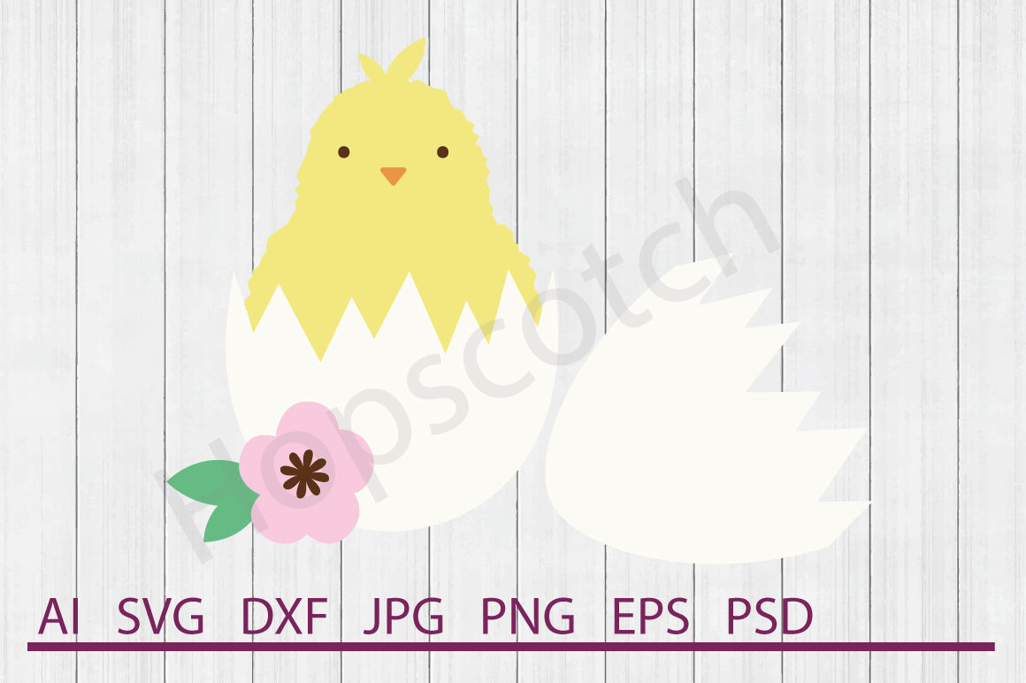 Chick Svg Chick Dxf Cuttable File By Hopscotch Designs