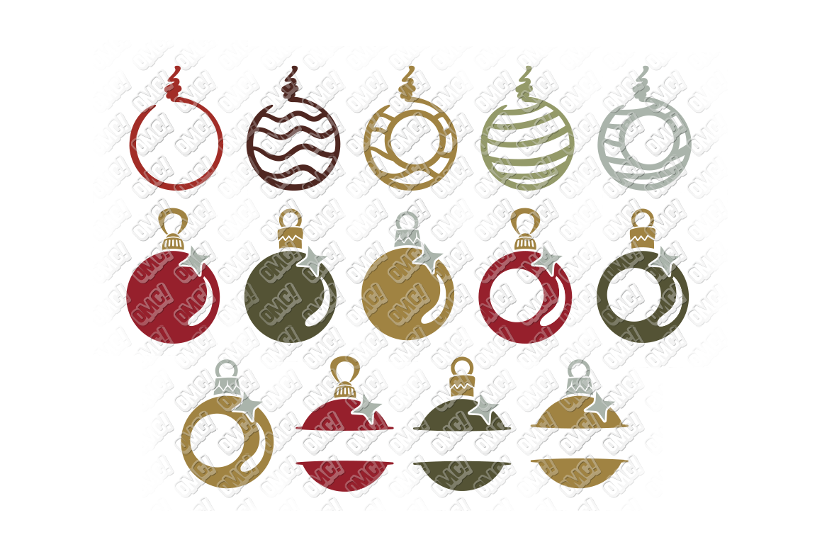 Christmas Bulb Png.Christmas Bulb Svg Ornament In Svg Dxf Png Eps Jpeg By
