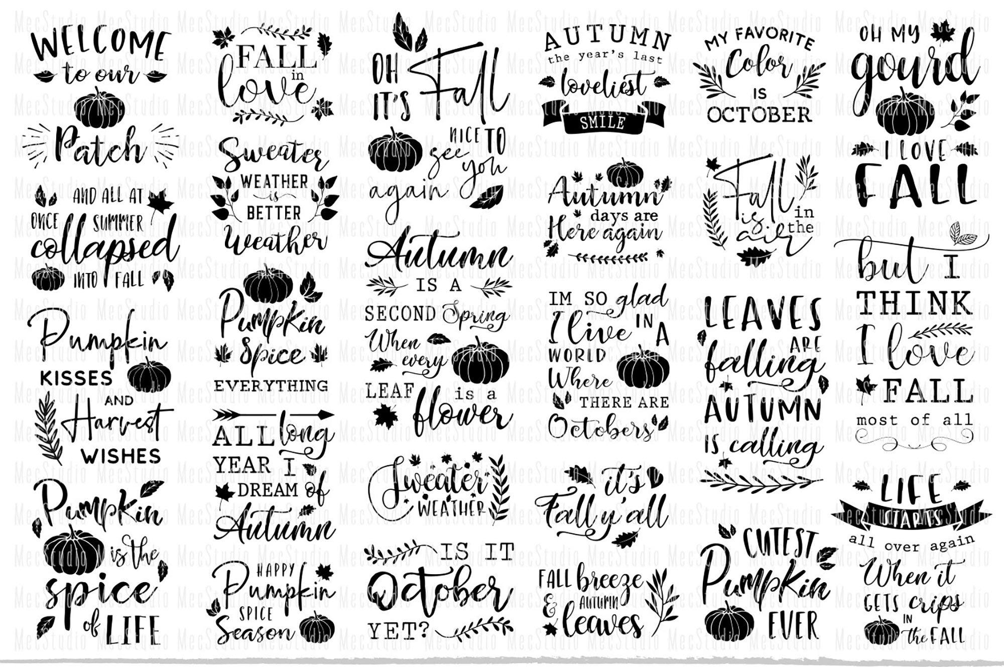 Fall Pumpkin Svg Autumn Cricut File By Mecstudio Thehungryjpeg Com