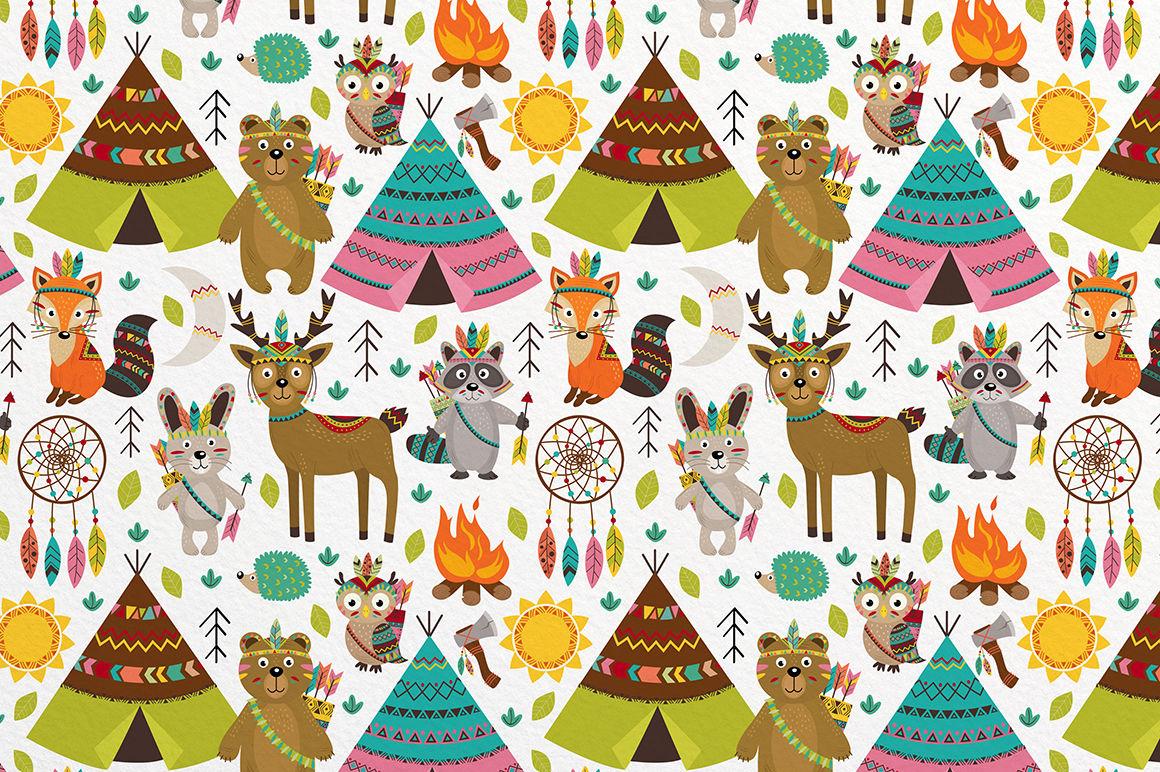 Tribal Animals By Nataka Thehungryjpeg Com