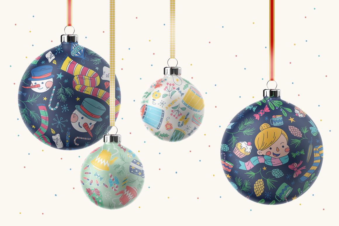 Christmas Stories Patterns By Pinata Thehungryjpeg Com