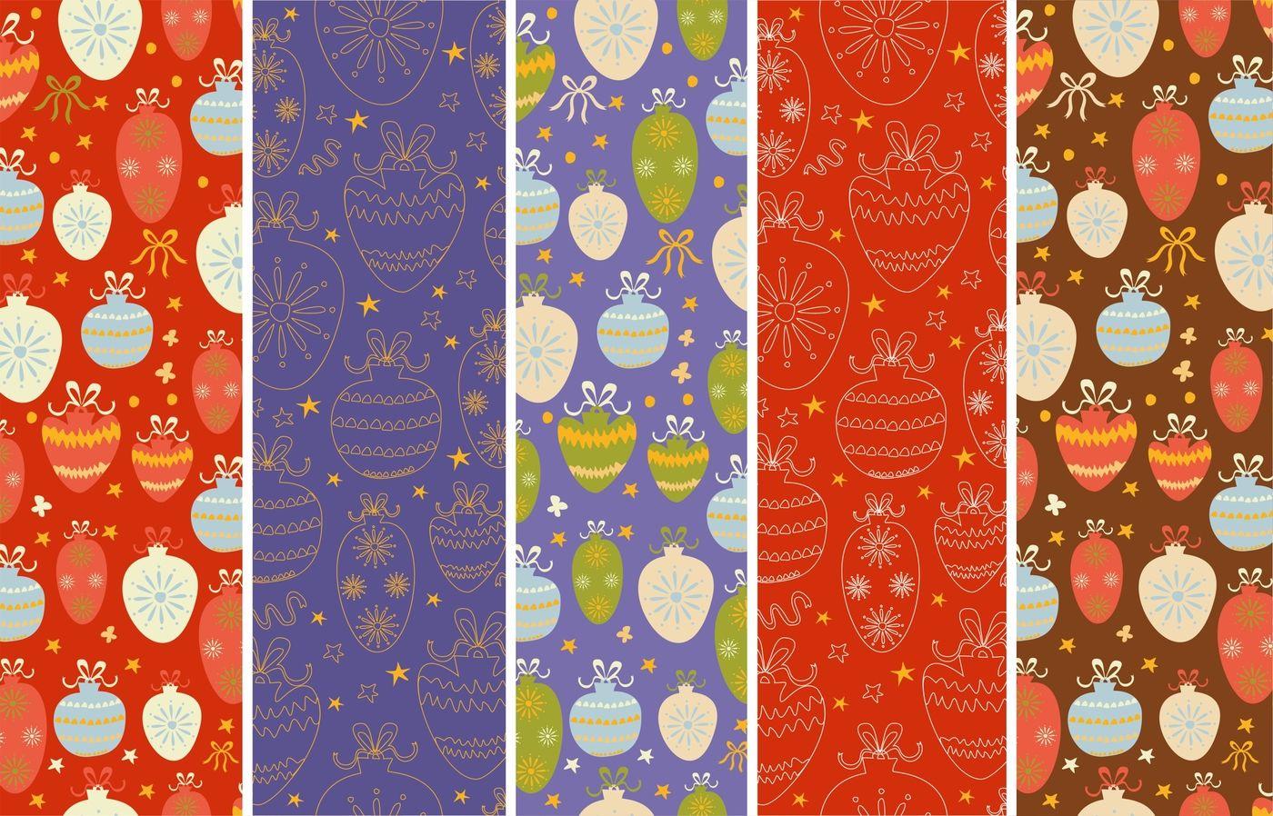 Christmas Set Wreaths Patterns By Lesya Skripak Thehungryjpeg Com