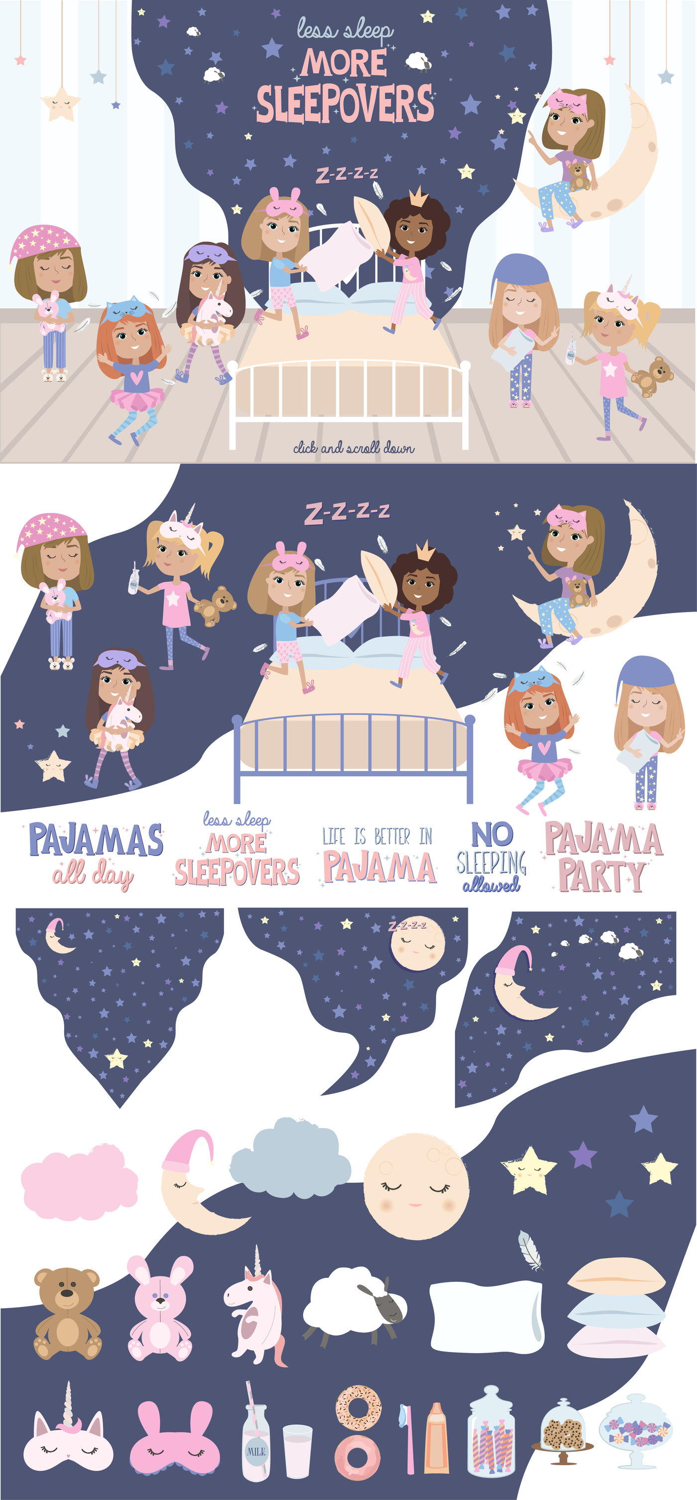 Life Is Better In Pajama By Mio Buono Thehungryjpeg Com