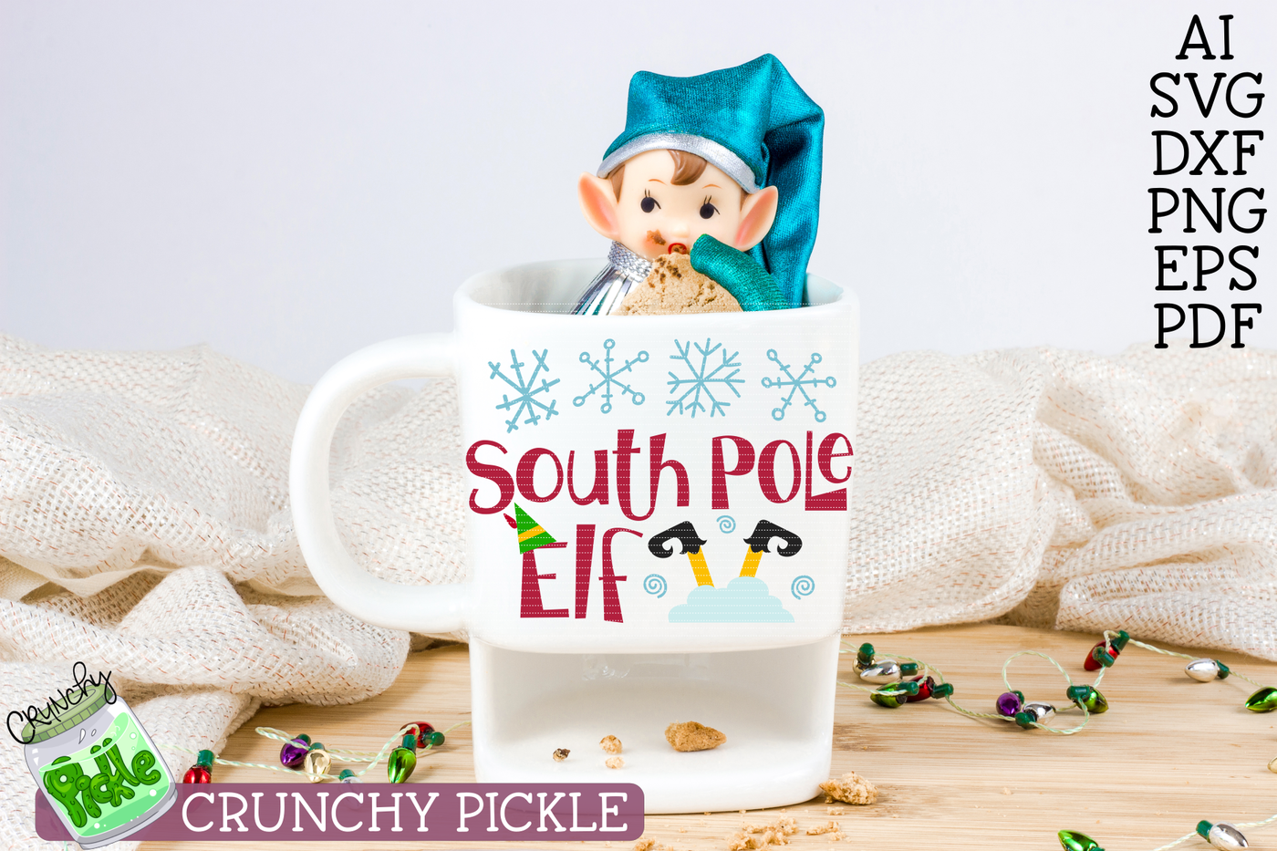 Christmas Elf Svg Bundle By Crunchy Pickle Thehungryjpeg Com
