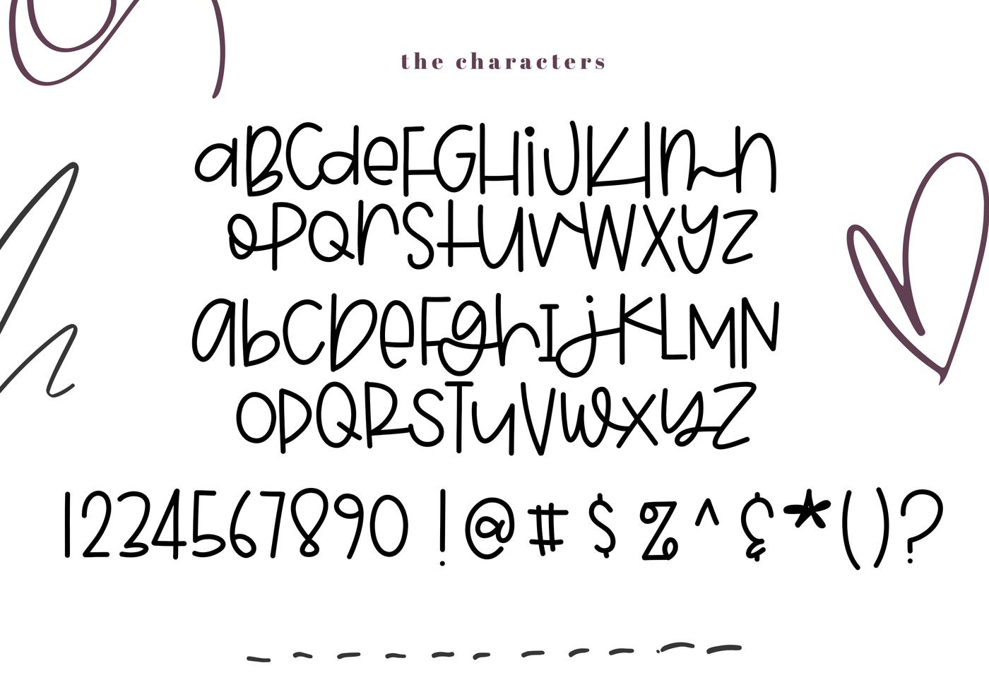 Blackberry A Quirky Handwritten Font By Ka Designs