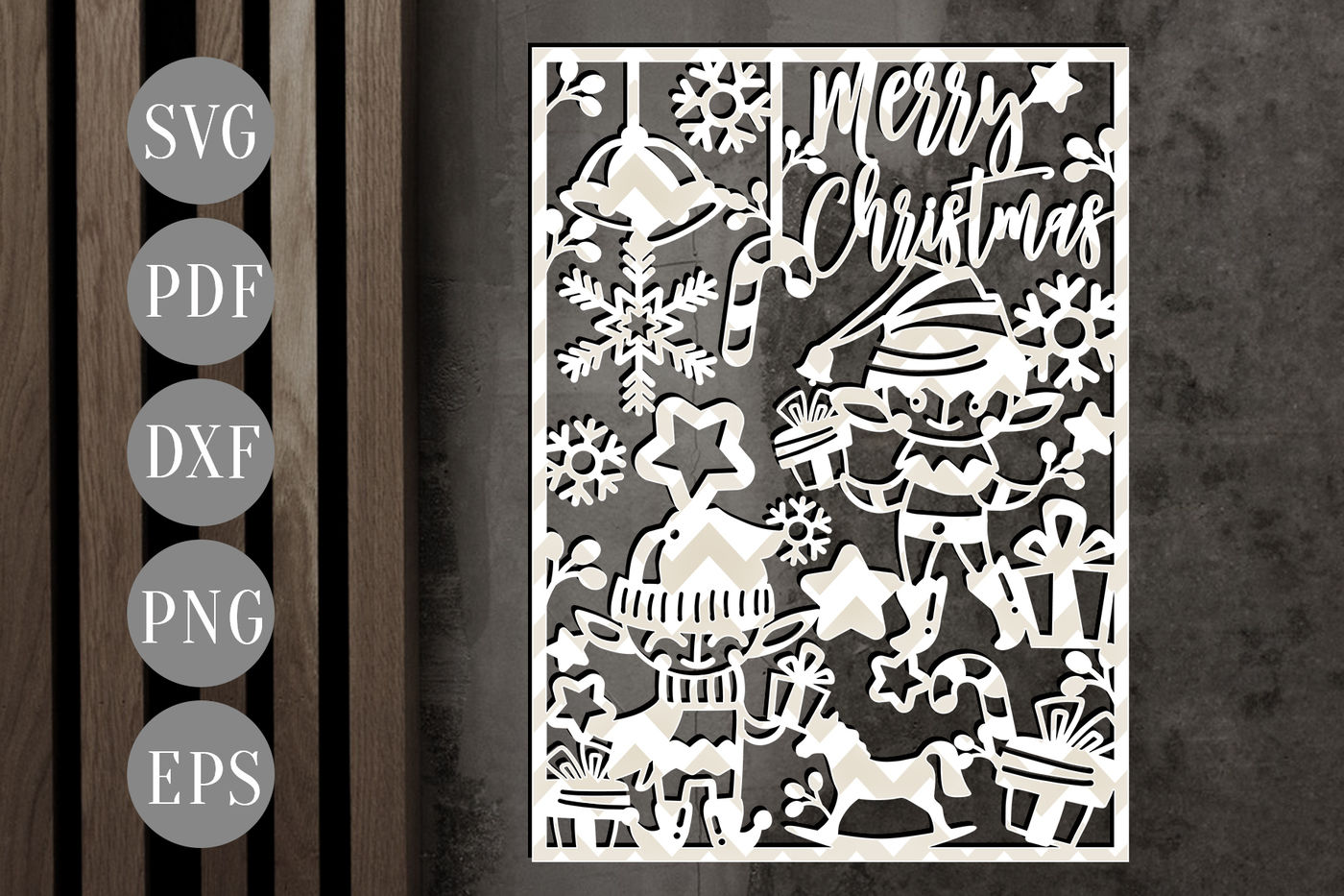Download Download Christmas Cards Free for Cricut, Silhouette ...