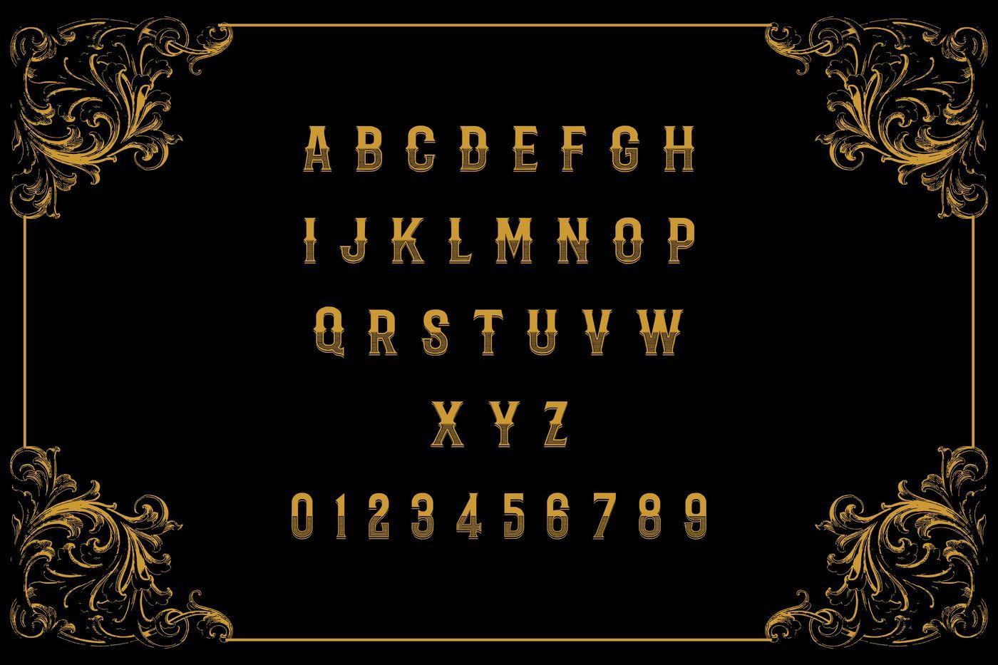 Badoet | Victorian Logo Fonts By Banyumili Studio
