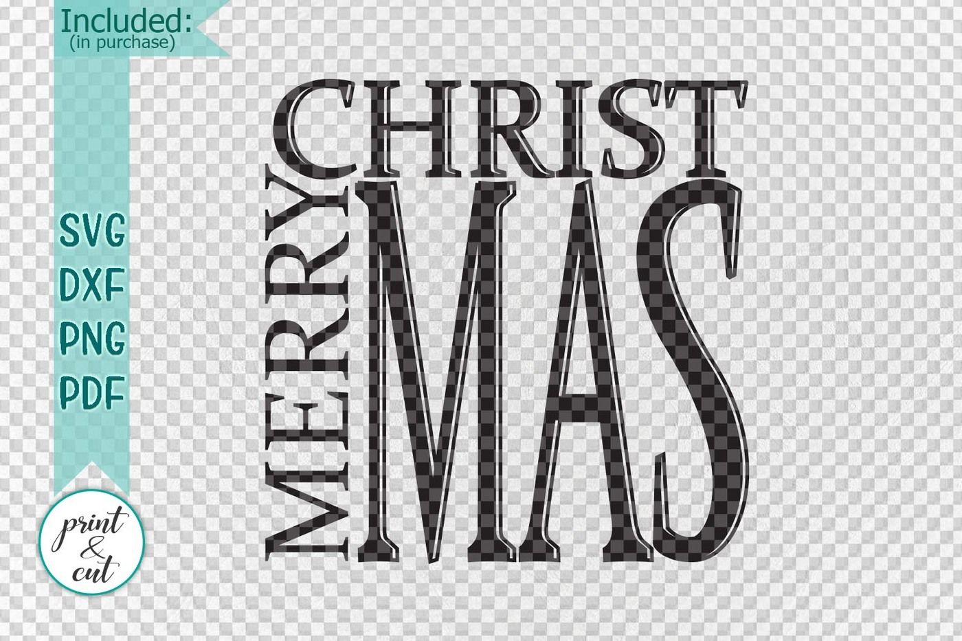 Merry Christmas Holidays Vintage Wooden Framed Sign Cut File Svg By Kartcreation Thehungryjpeg Com