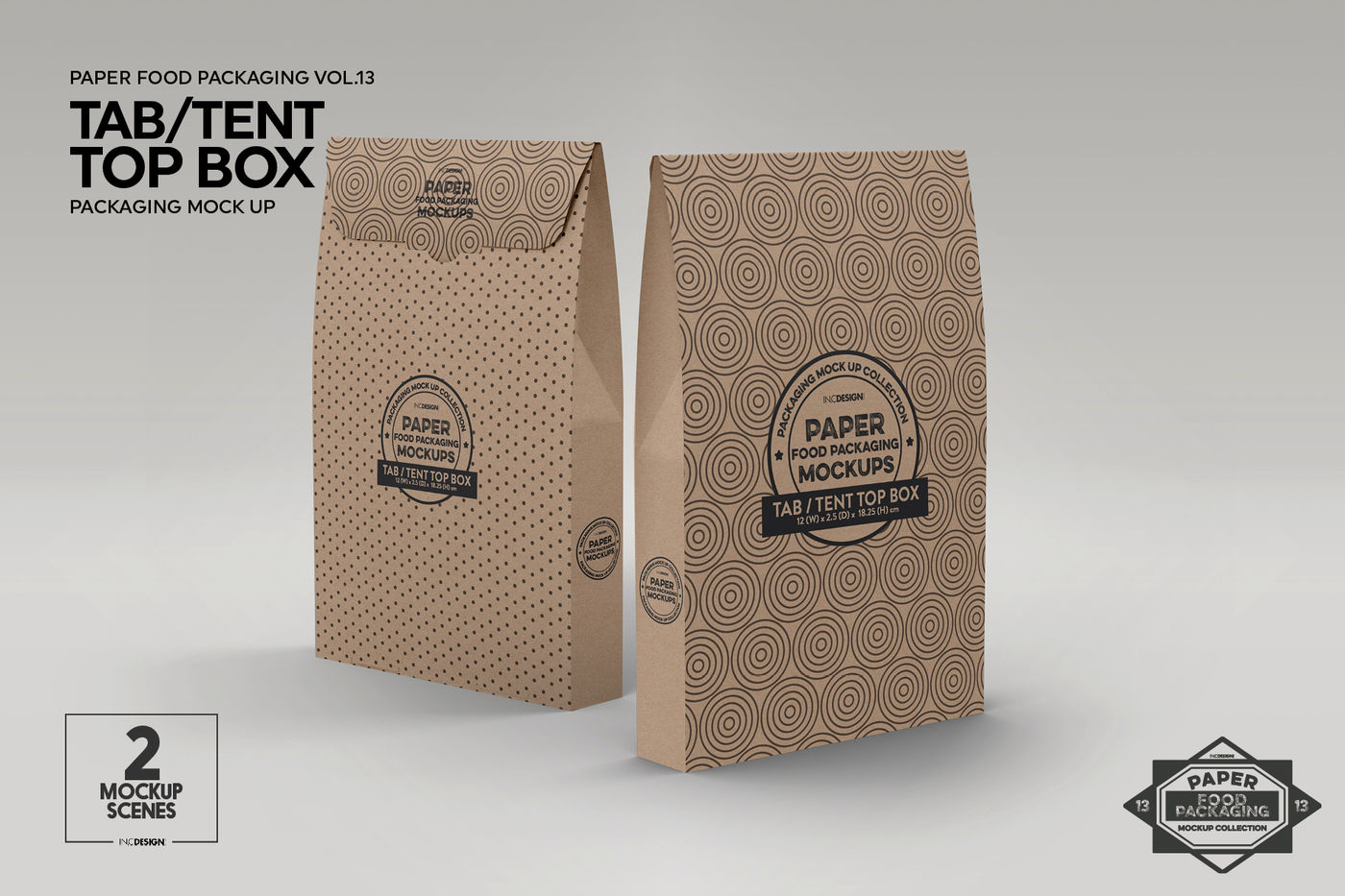 Download Two Glossy Mailing Bags Mockup Front View Yellowimages