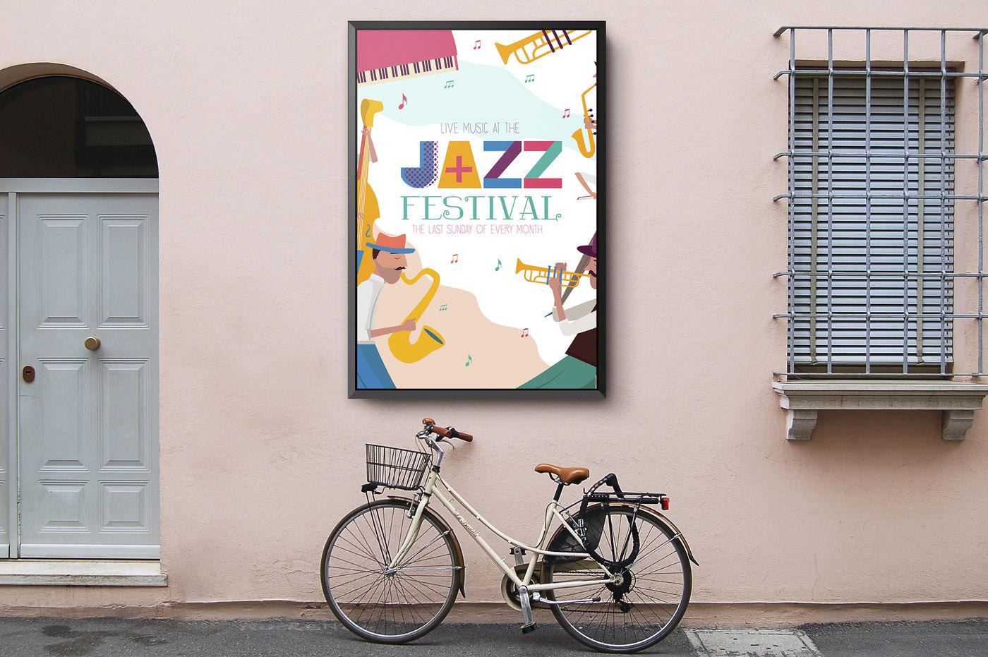 Night Jazz In New York By Mio Buono Thehungryjpeg Com