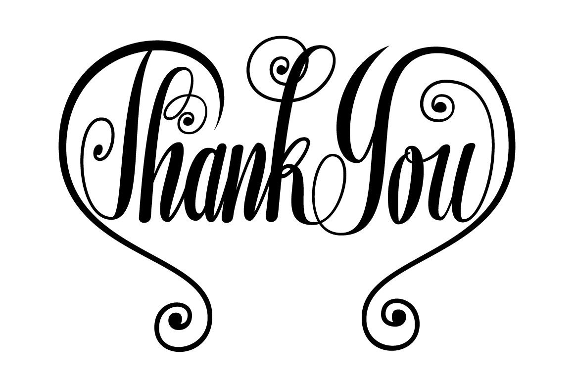 Thank You Butterfly Lettering Svg By Darwinoo Thehungryjpeg Com