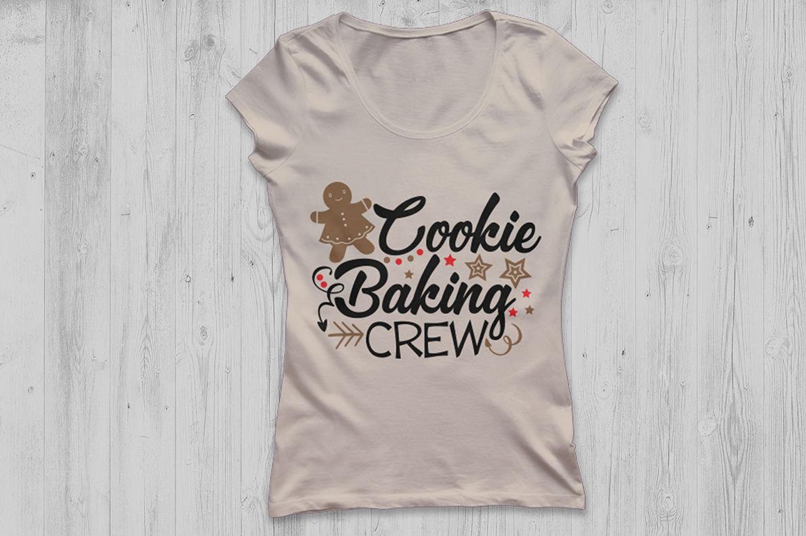 Cookie Baking Crew Svg Christmas Svg Gingerbread Svg Apron Svg