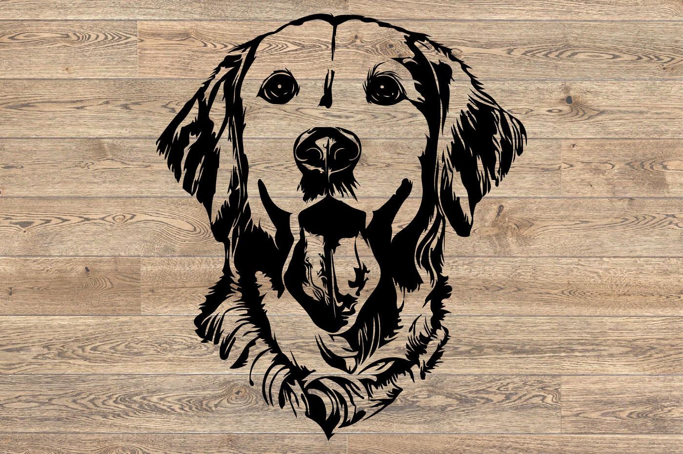 Download Lab SVG Labrador dog head Dog retiever Puppy Breed 1138S ...
