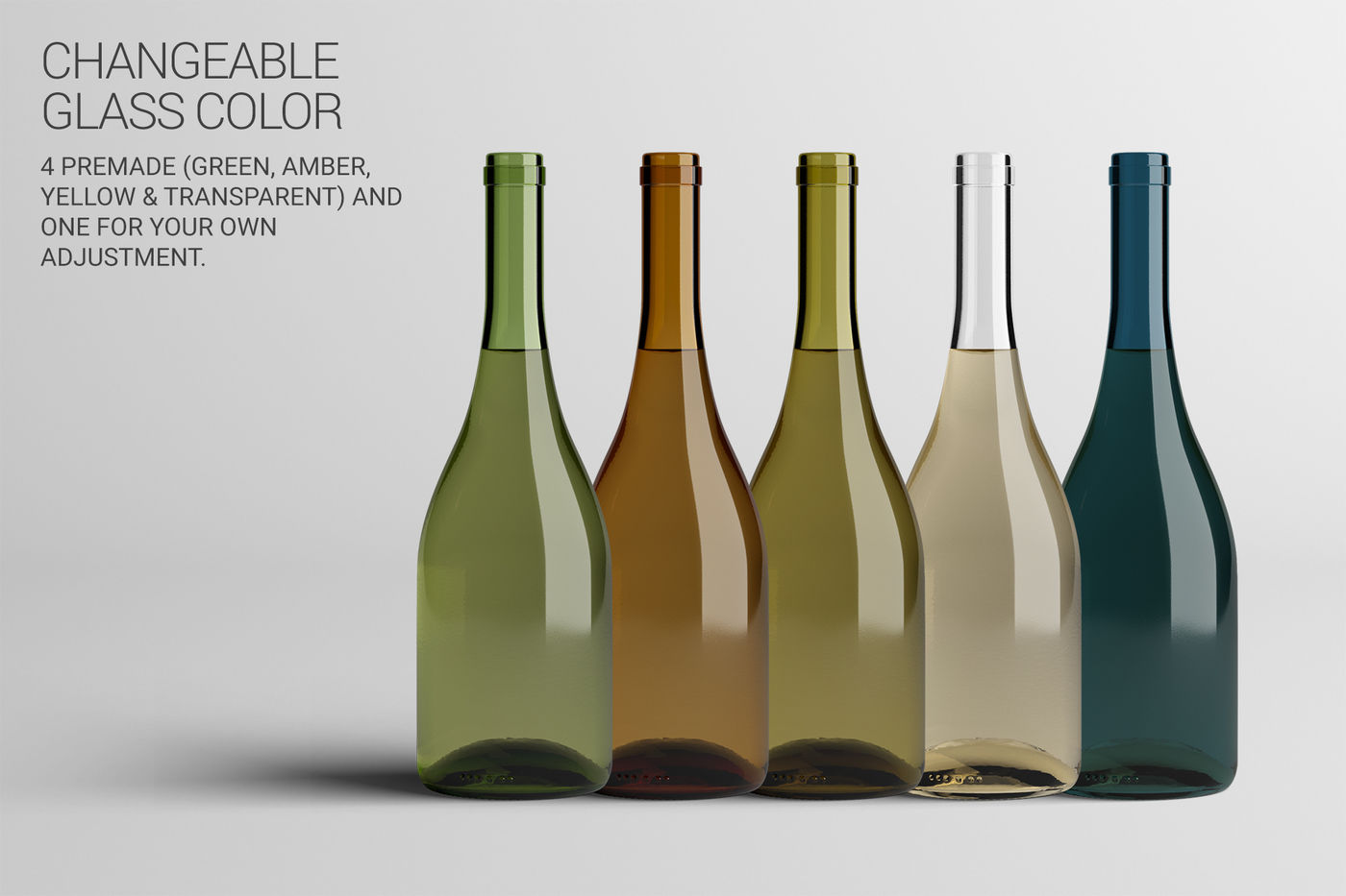 Download Dark Amber Glass Bottle With Handle Mockup Yellow Images