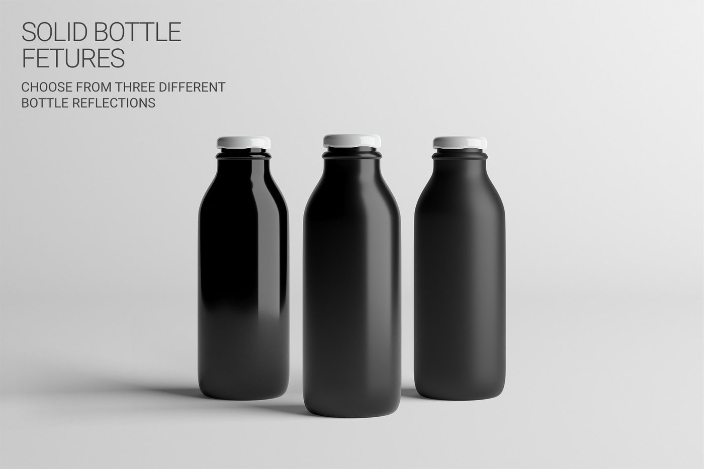 Download Dark Glass Bottle With Red Drink Mockup Yellow Images
