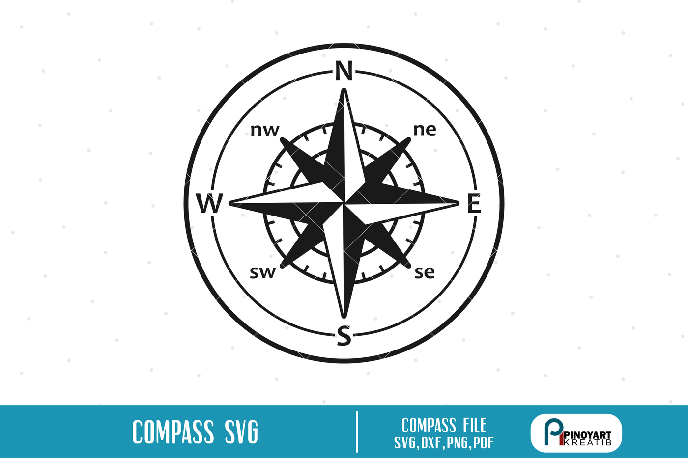 Compass Svg Compass Dial Svg Travel Svg Adventure Svg Svg
