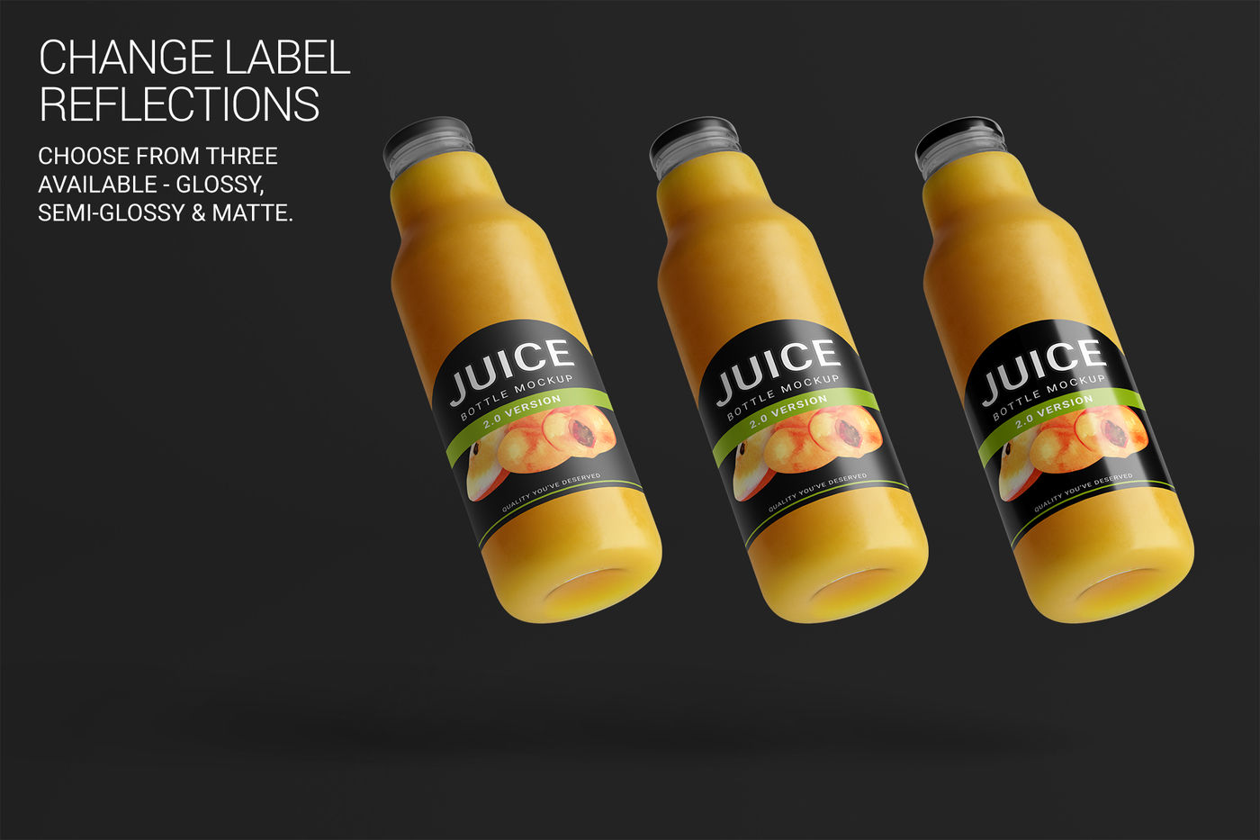 Download Amber Beer Bottle Wrapped In Matte Paper Mockup Yellow Images