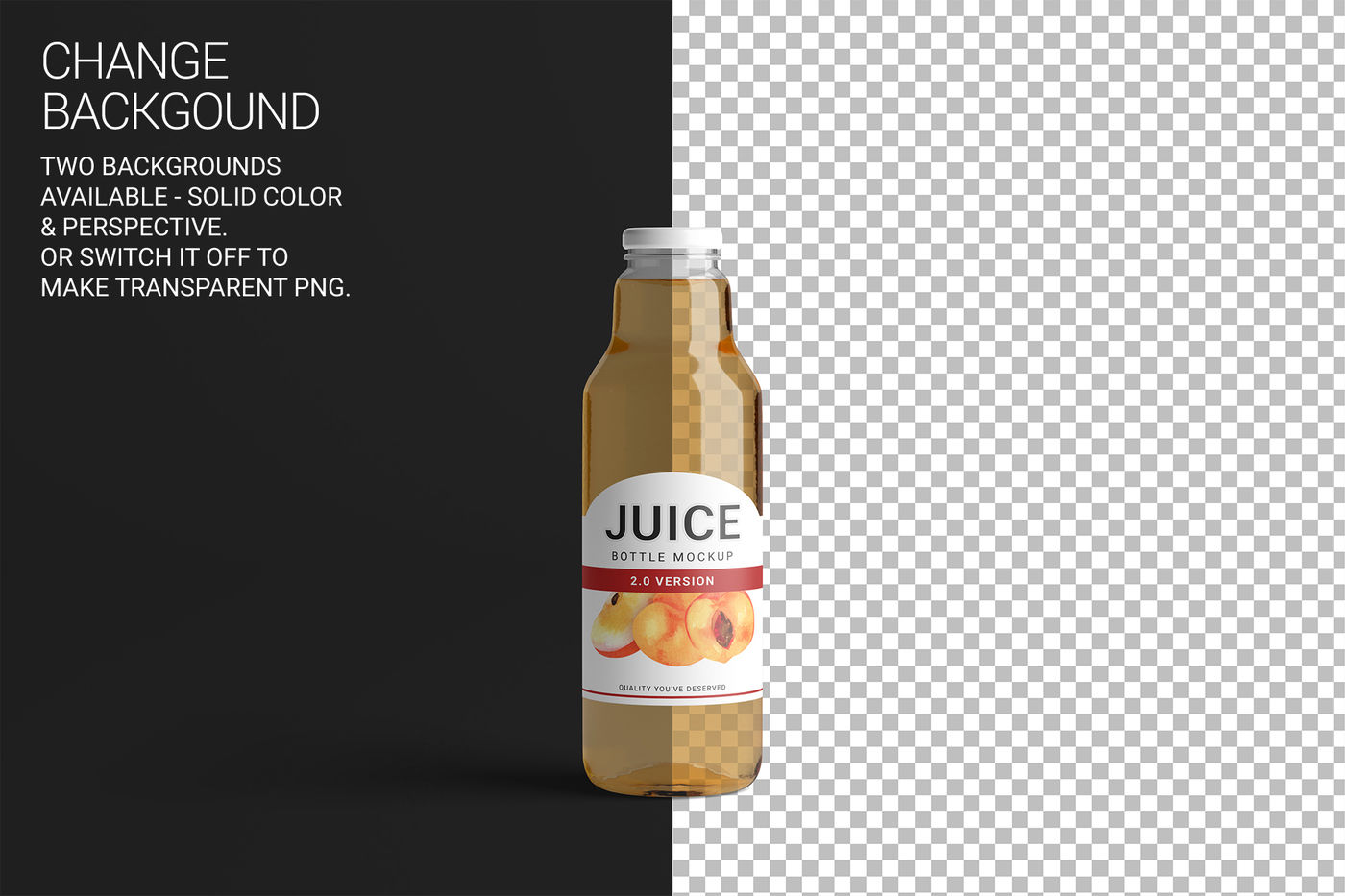Download Amber Beer Bottle Wrapped In Matte Paper Mockup Yellowimages