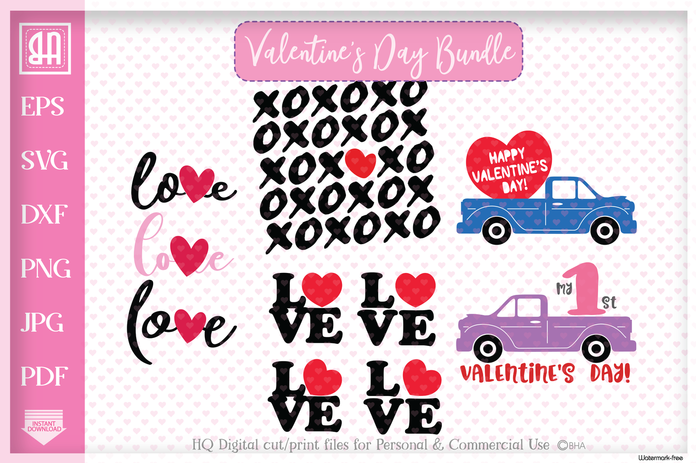 Valentine S Day Bundle Svg Valentine S Day Designs Bundle By