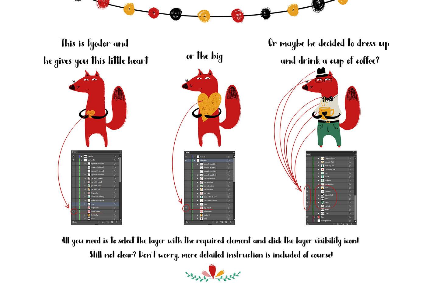 Super Duper Animals Creator By Annykos Thehungryjpeg Com