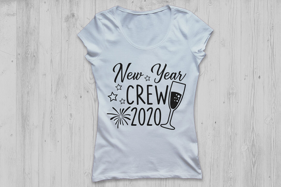 New Year Crew Svg New Years Svg New Years Eve Svg Happy New