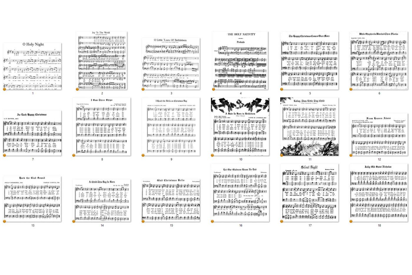Christmas Music Overlays By Digital Curio Thehungryjpeg Com