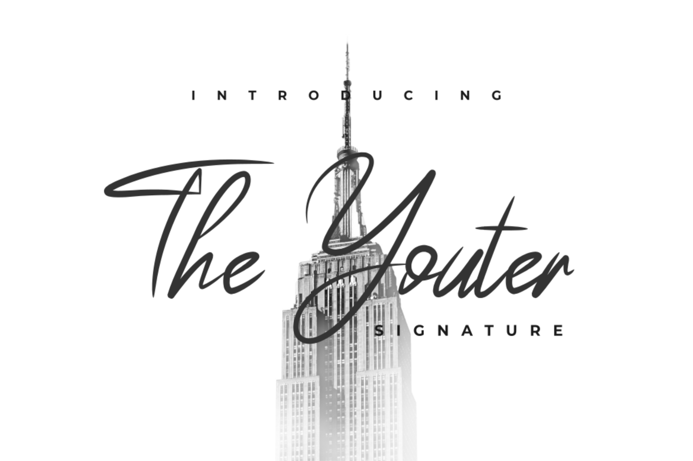 The Youther - Signature By Java pep   TheHungryJPEG com