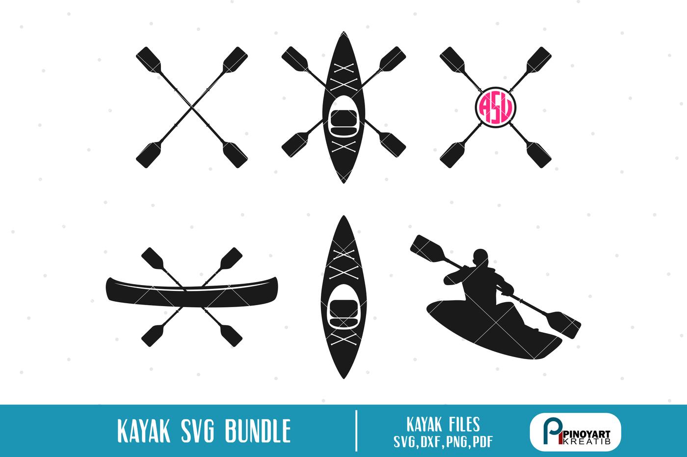 Download Cricut Kayak Svg Free