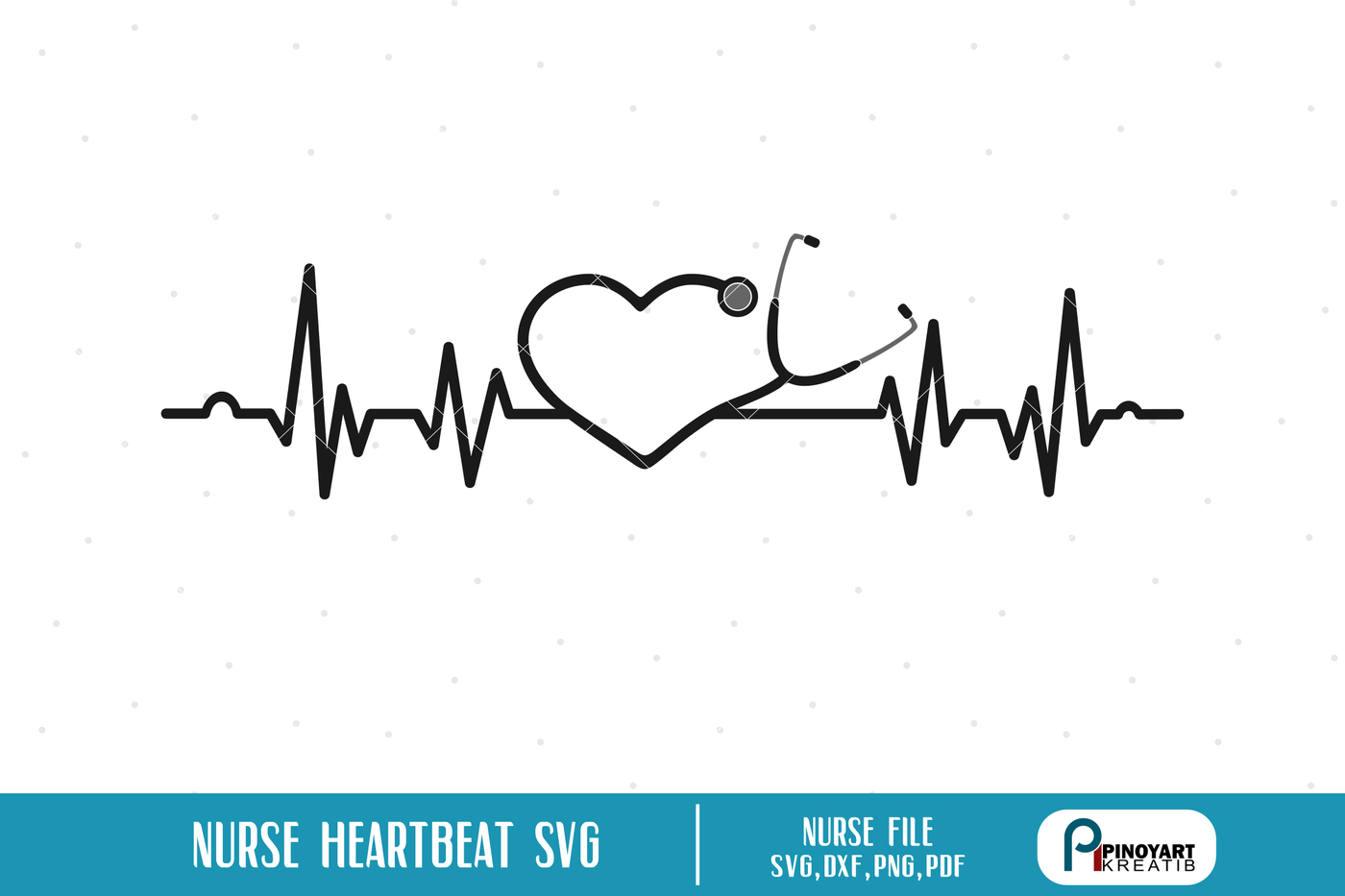 Nurse Heartbeat Svg Nurse Svg Heartbeat Svg Svg Files For