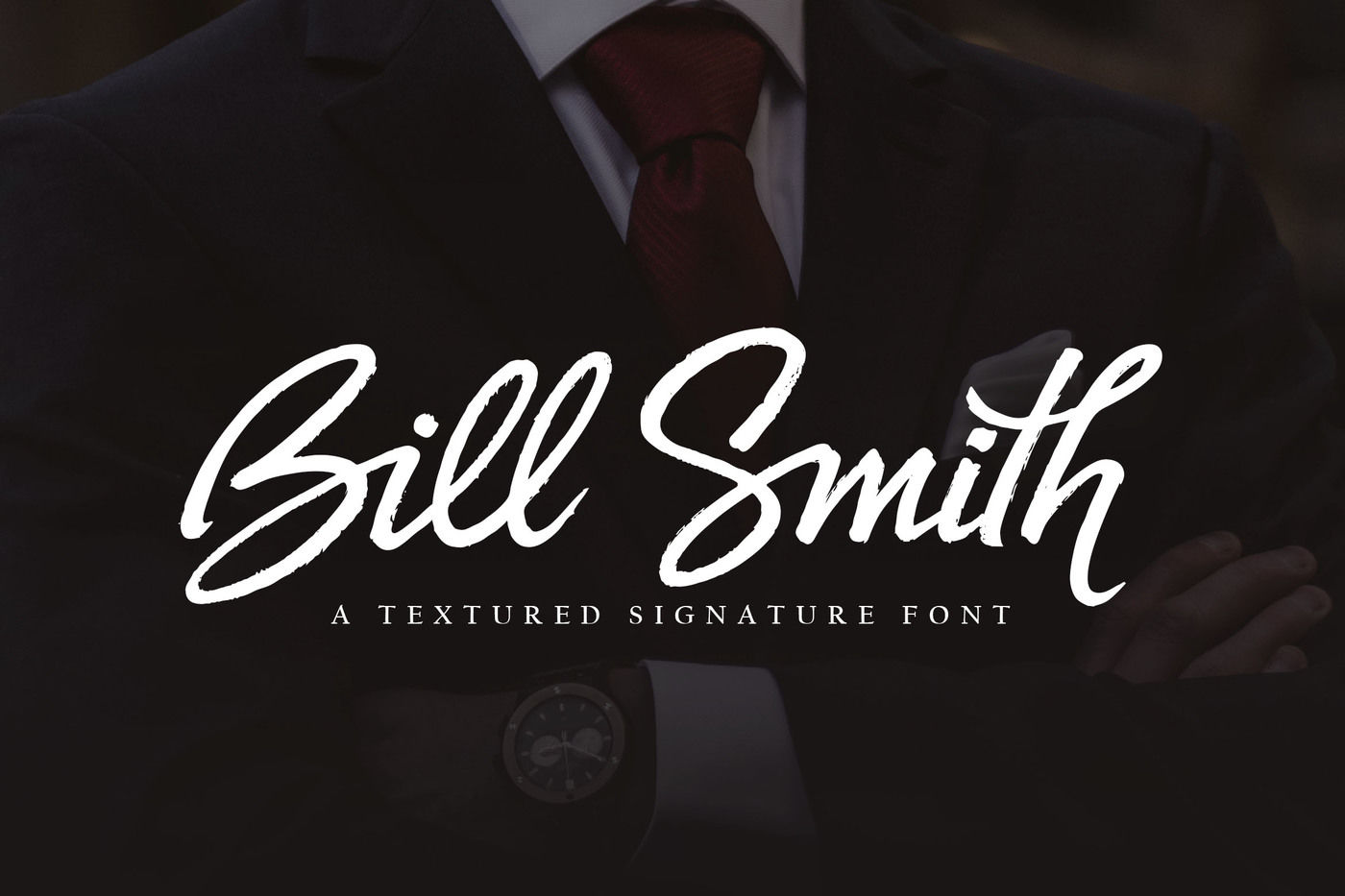 Bill Smith By Subectype | TheHungryJPEG com