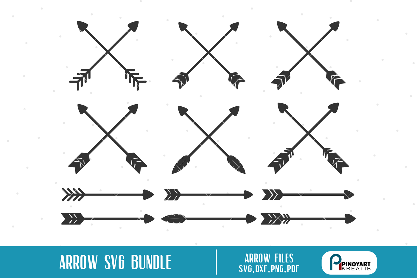 Arrow Svg Crossed Arrow Svg Arrow Clip Art Svg Files For Cricut