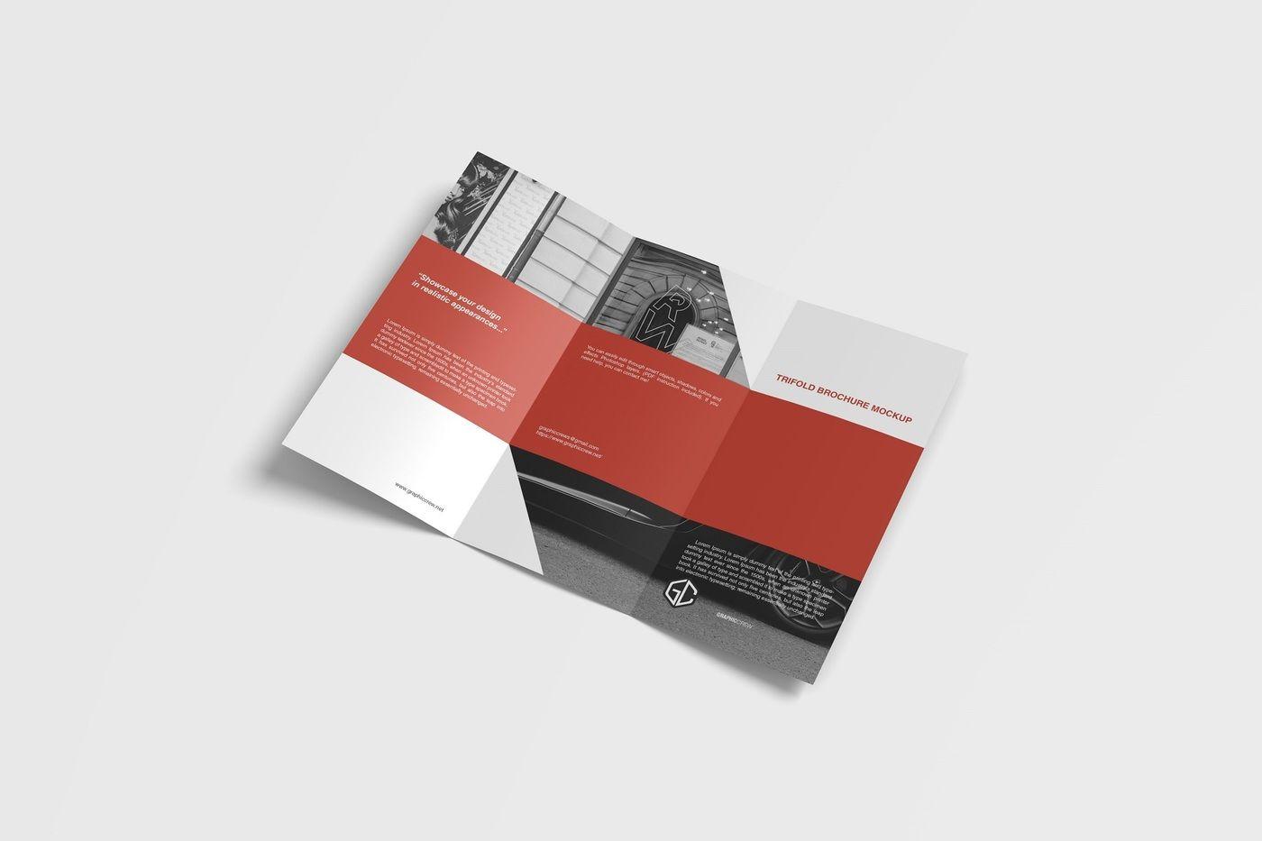 Psd Leaflet Mockup