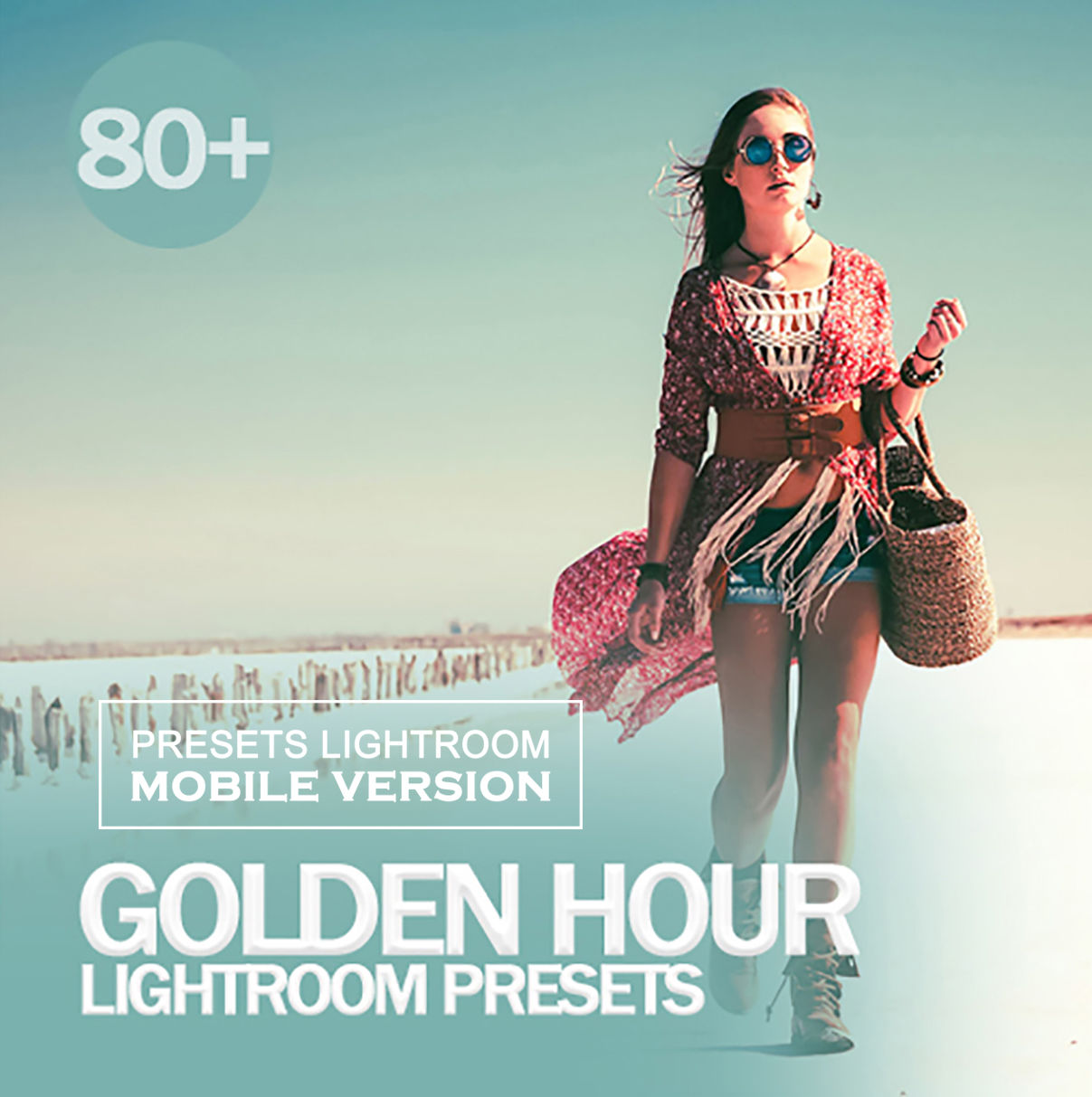 Golden Hour Lightroom CC Mobile Presets (Adroid and Iphone