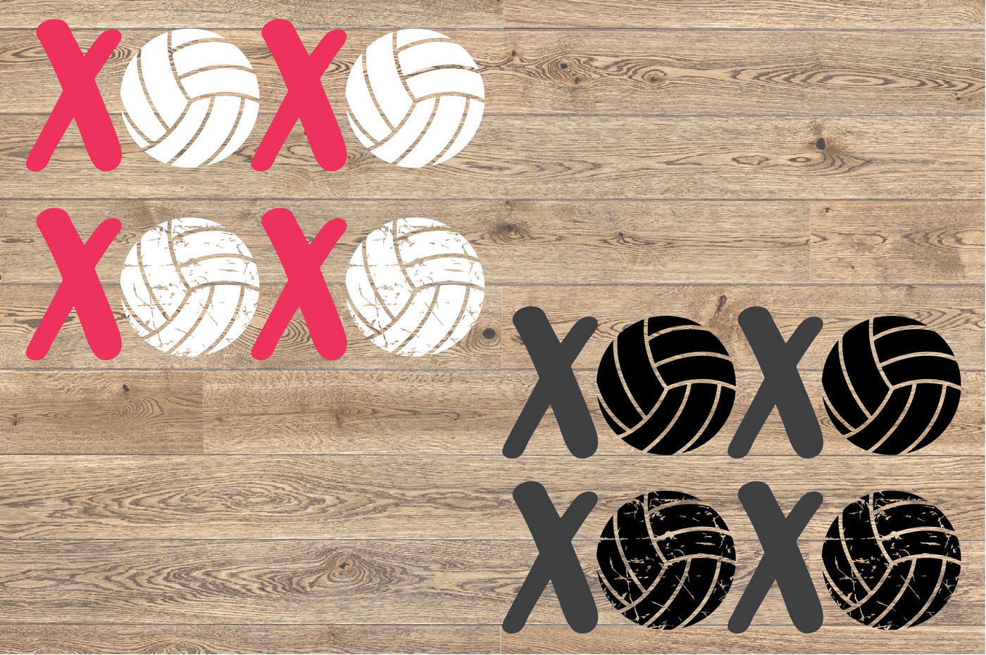 Xoxo Volleyball Svg Love Ball Valentine S Day 1171s By Hamhamart