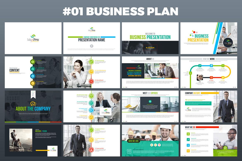 BusinessPlan PowerPoint Presentation By ContestDesign