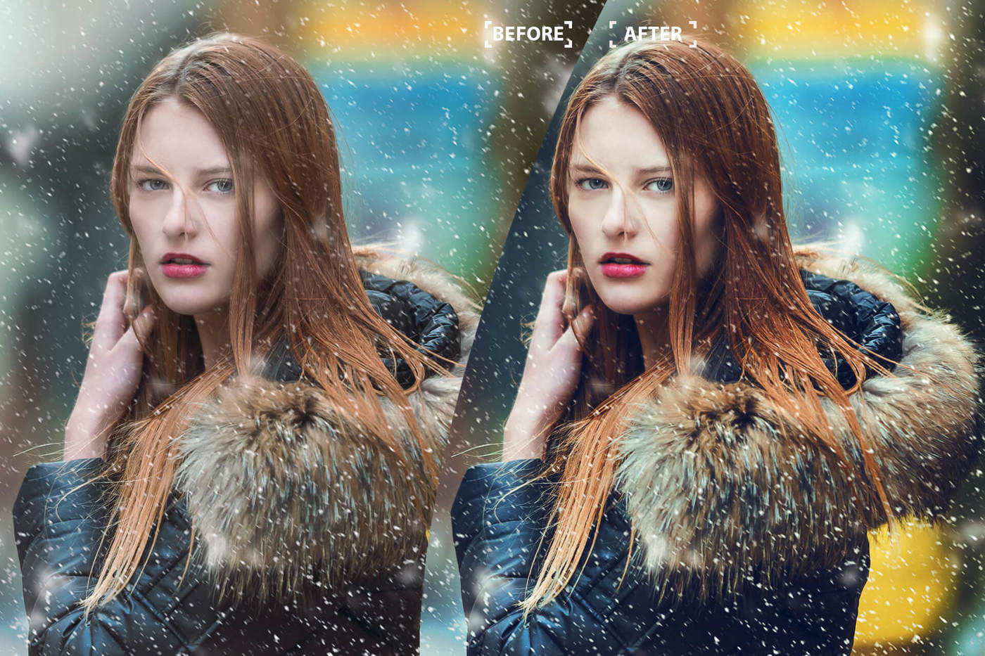 Cinematic Color Grading 04 Premium photoshop actions By 3Motional